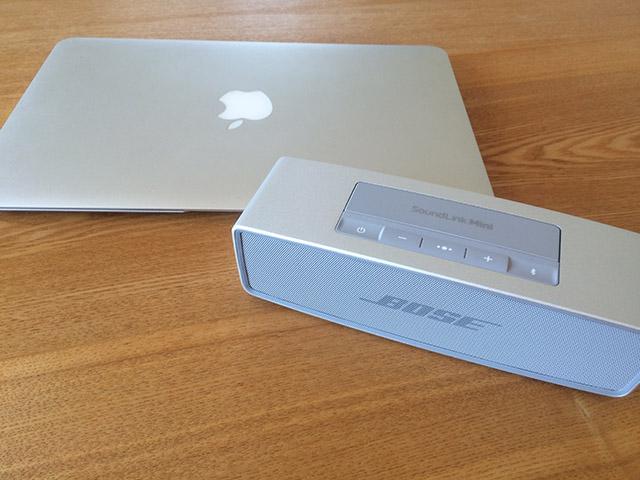 「Bose SoundLink Mini II」とMacBook Air